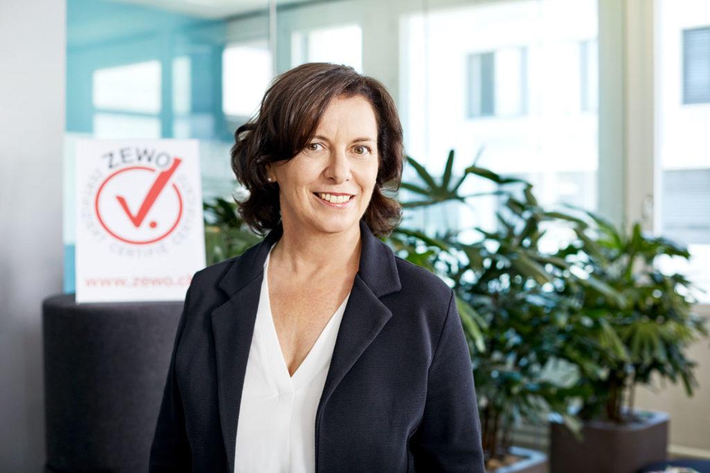 Martina Ziegerer, Stiftung Zewo