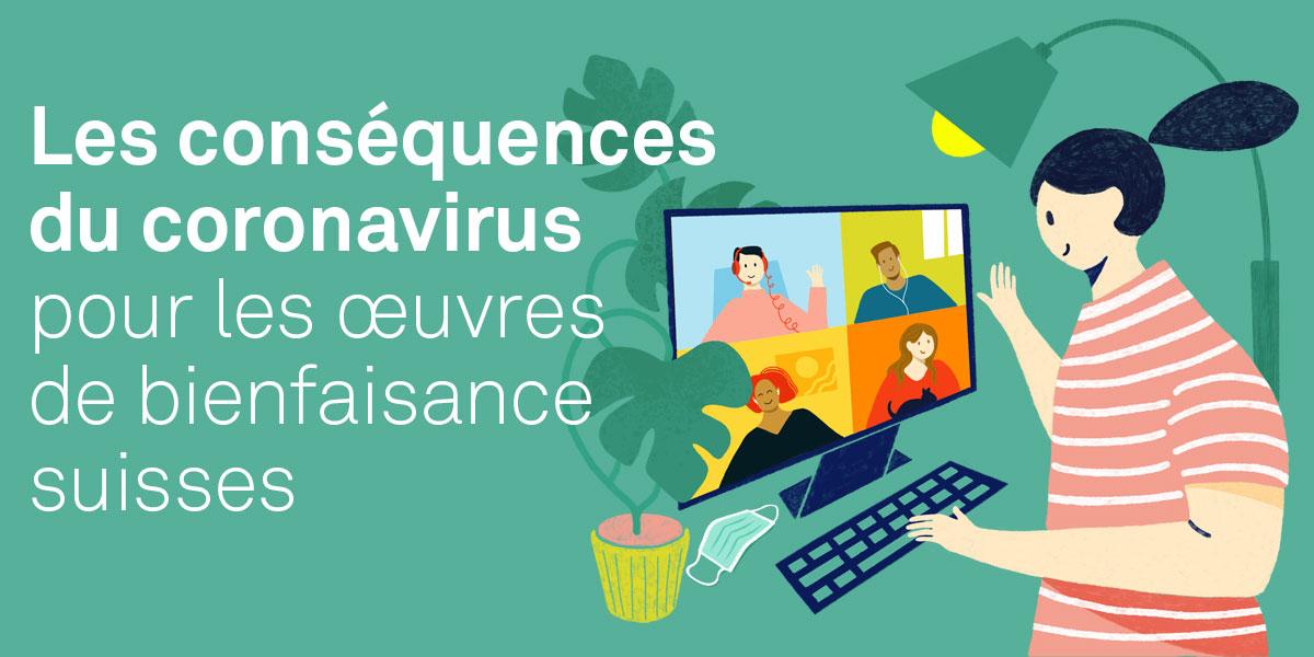 Les conséquences du coronavirus pour les oeuvres de bienfaisance suisses